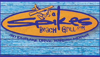 spikes beach grill logo